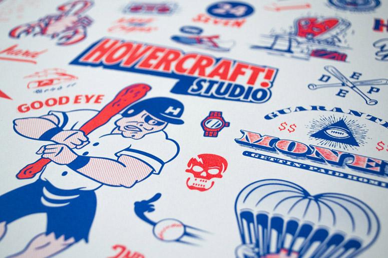 Hovercraft Studio Sports Ball Poster