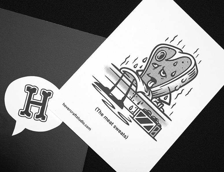 Hovercraft Against Mankind Promotion