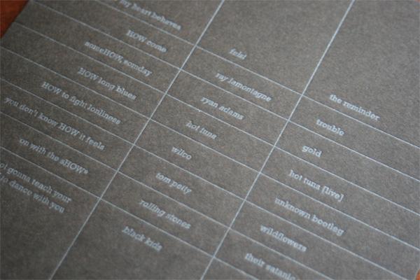 2009 How Design Conference CD Exchange Sleeve