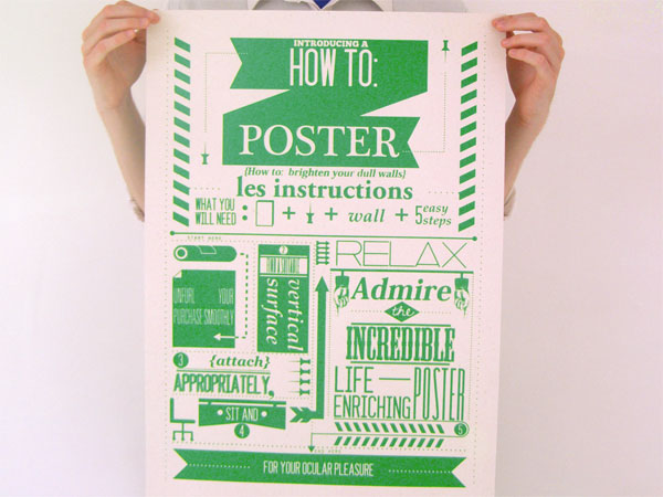 <em />The How To: Project</em> Poster