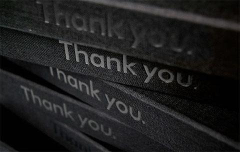 HP Thank You DVD