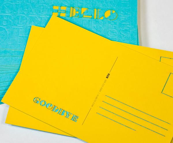 HUB Collective Postcard