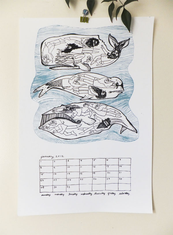 Hungry Fox Calendar