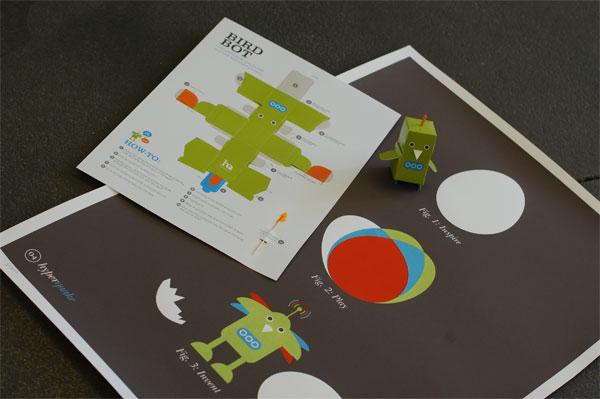 HyperQuake Poster and Papercraft