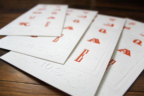 HyperQuake 10th Anniversary Letterpress Poster