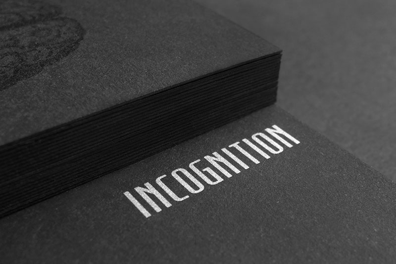 Incognition Business Cards
