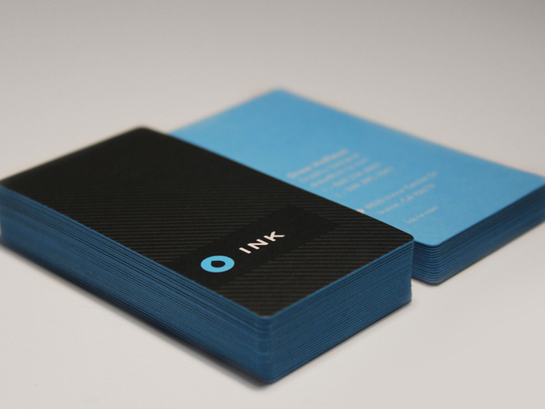 Fpo ink brand collateral for Ink business cards