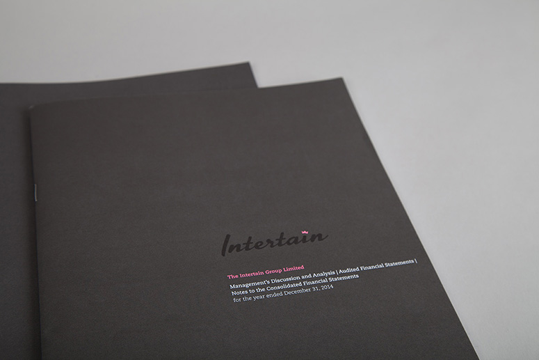 Intertain Annual Report