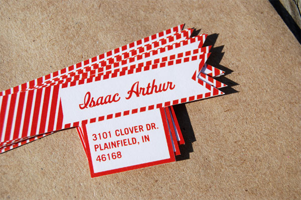 Fpo Isaac Arthur Stationery