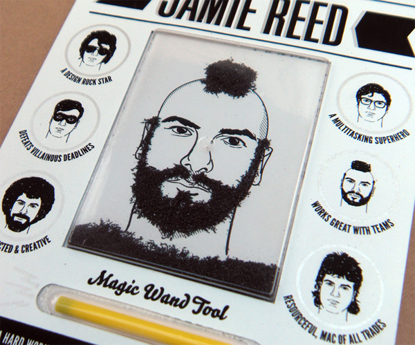Jamie Reed's Magnetic Toy Promo