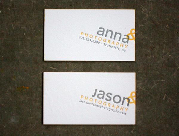 Jason & Anna Business Cards