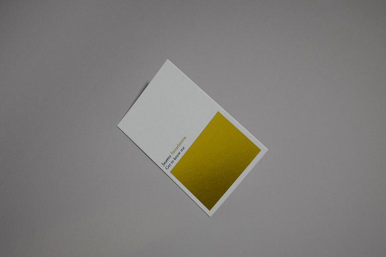 Jauretsi Saizarbitoria Business Cards
