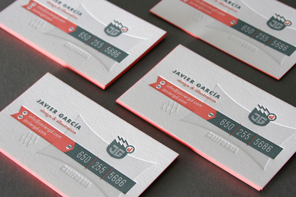 Javier Garcia Business Card