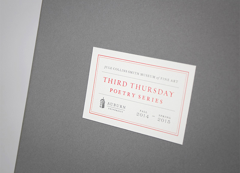 Third Thursday Poetry Series Posters