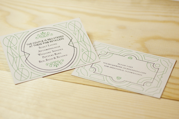 Jerome and Micaela Wedding Invitation