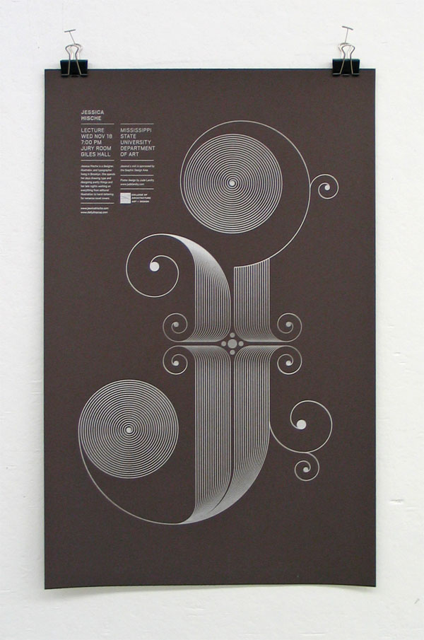 Jessica Hische Poster
