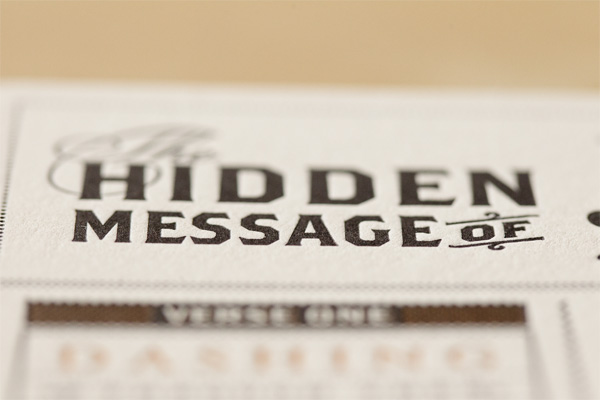 The Hidden Message of Jingle Bells Poster