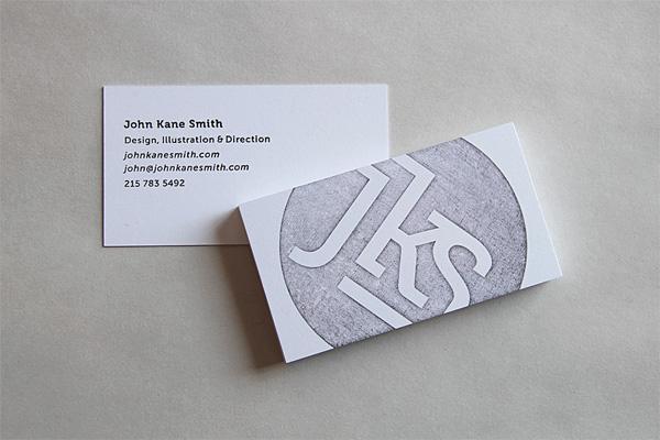 John Kane Smith Business Card