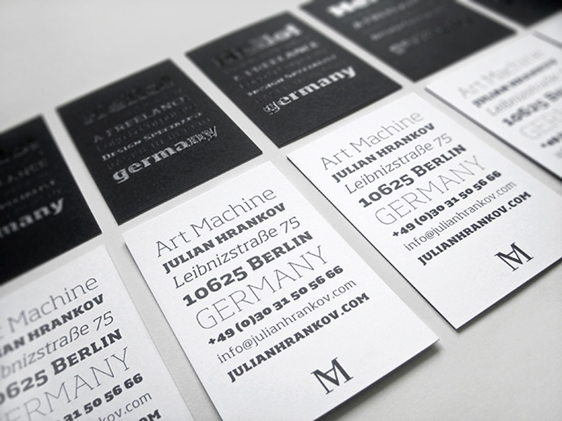 FPO: Julian Hrankov Business Card