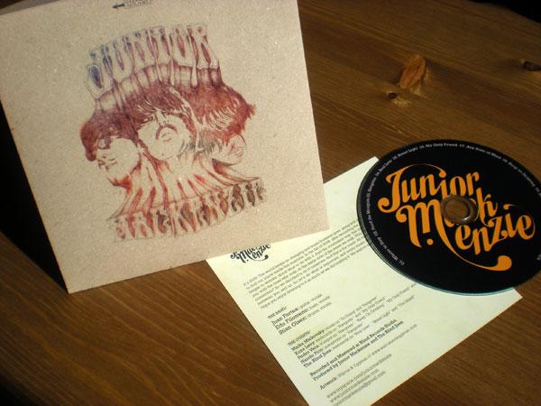 Junior Mackenzie CD Packaging