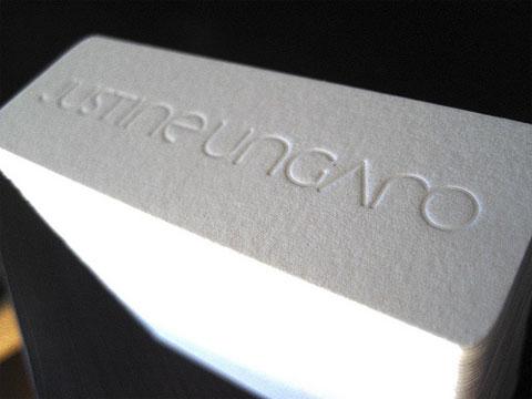 Justine Ungaro Business Cards