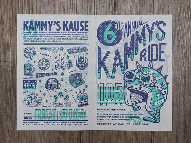 2014 Kammy's Kause Flyer/Poster