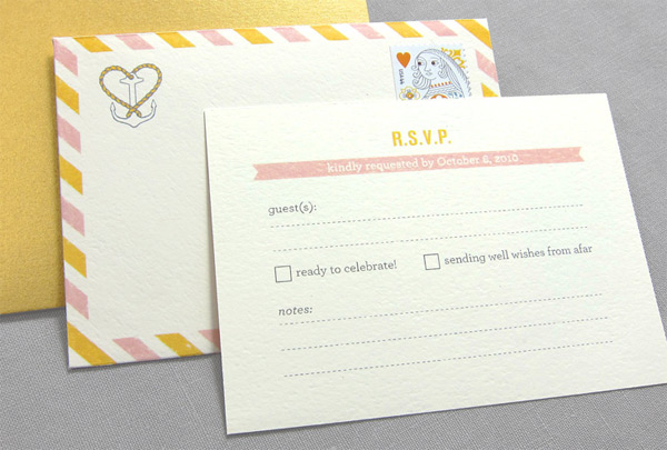 Kate and Nick Wedding Invitations