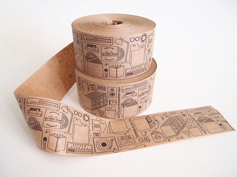 Kate Koeppel Custom Packing Tape