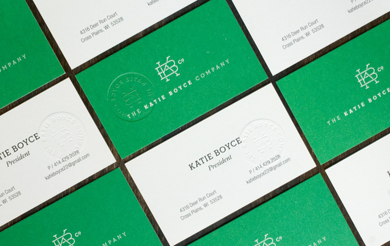The Katie Boyce Company Stationary Set
