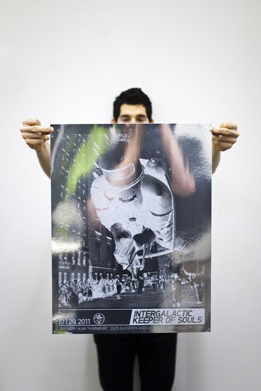 Intergalactic Keeper of Souls Poster