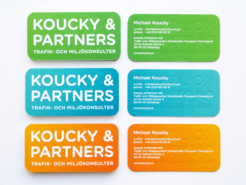 Koucky & Partners Business Cards