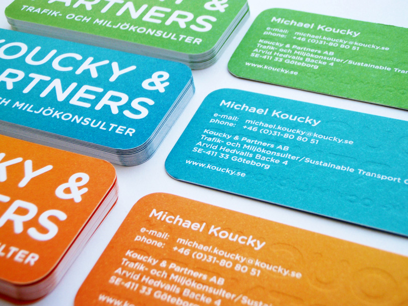 Koucky & Partners Business Cards