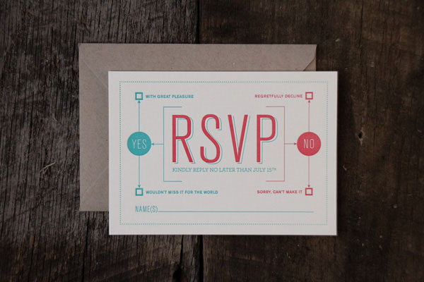 Kristen and Loren Wedding Invitation