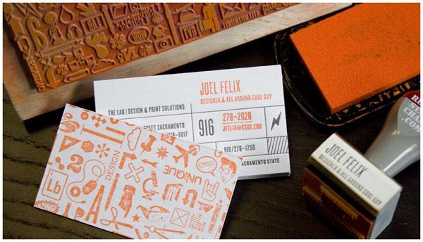 Joel Felix Business Card