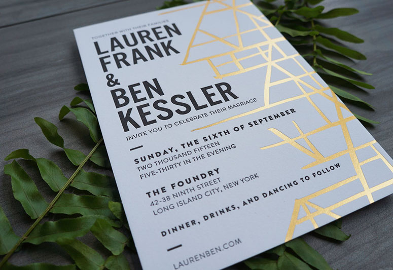 Lauren & Ben Wedding Invitation Suite