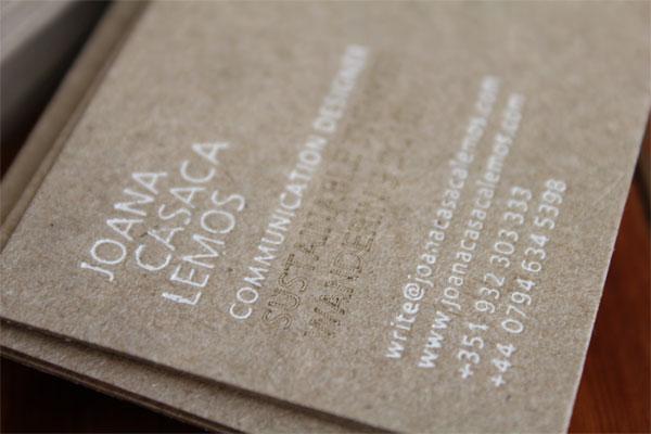 Joana Casaca Lemos Business Card