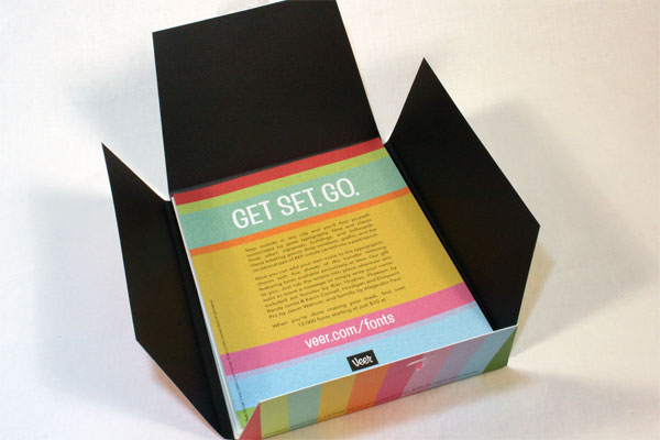 Letterset Rub-off Lettering Package