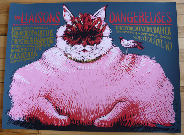 Les Liaisons Dangereuses Poster