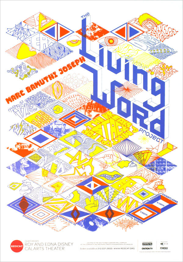 The Living Word Project Poster