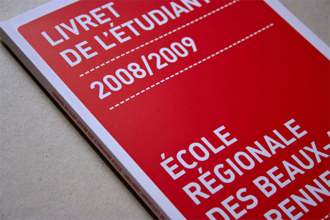 Livret de l'�tudiant 2008/2009