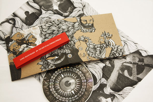Lord Mandrake CD packaging