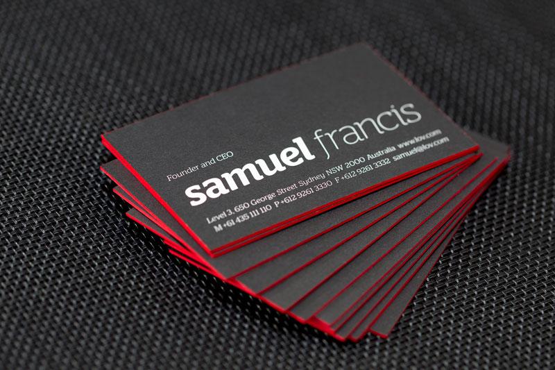 LOV Business Cards