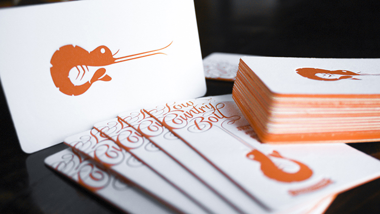 Low Country Boil Business Cards