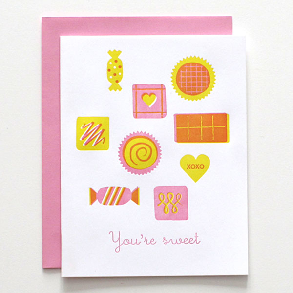 Self-promotional Valentine Cards