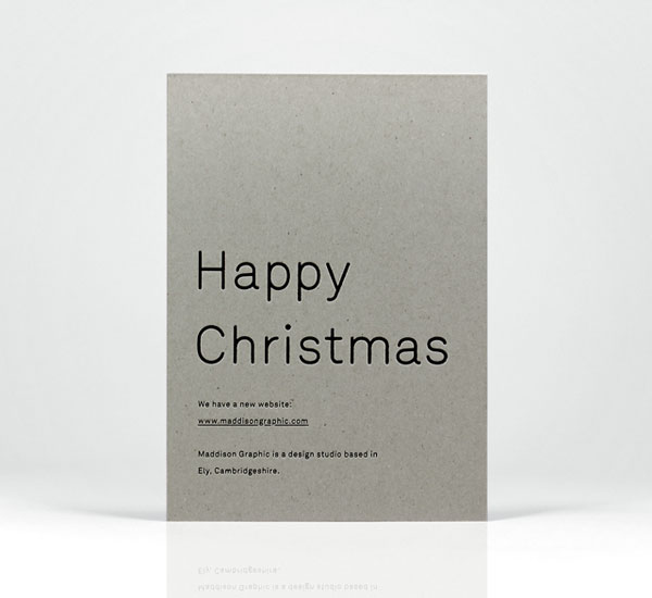 Maddison Graphic Christmas Card