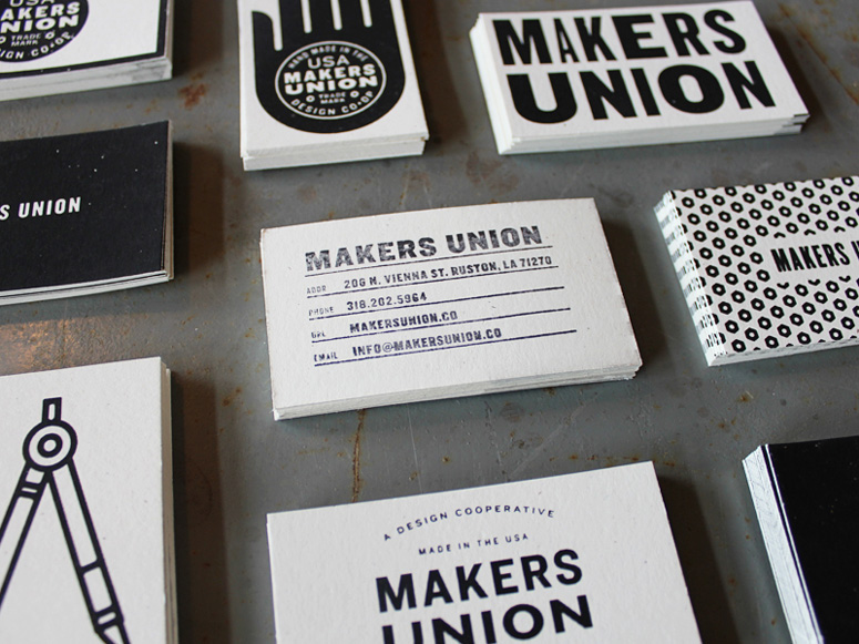 Fpo makers union business cards description colourmoves