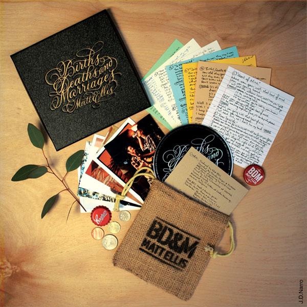 Matt Ellis CD Packaging