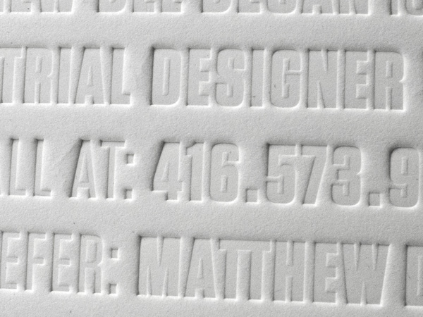 Matthew Del Degan Business Card