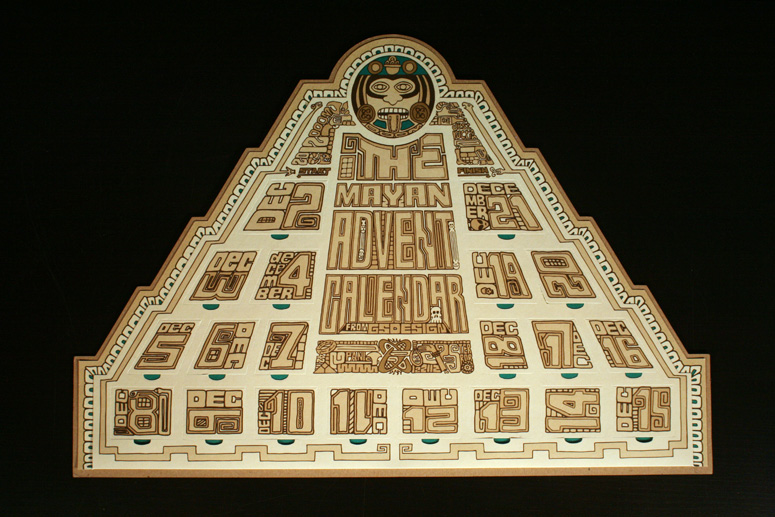 GS Mayan Advent Calendar