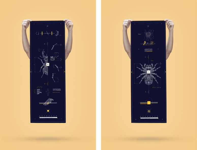 Mechanical Insects Posters
